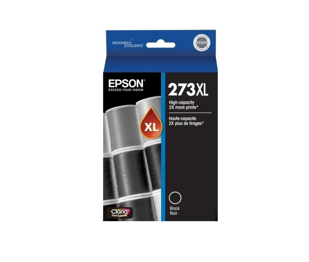 273XL - High Capacity Claria Premium - Black Ink Cartridge, Epson