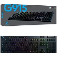 Mechanical Gaming Keyboard Logitech G915 LIGHTSPEED Wireless RGB Mechanical Gaming Keyboard 920-009226