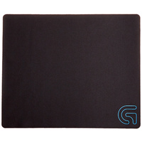 Logitech G240 Cloth Gaming Mouse Pad for Low-DPI Gaming, Low Profile, Strong & Flexible, Rubber Base