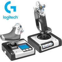 Logitech X52 H.O.T.A.S Throttle and Stick Simulation Controller 945-000025