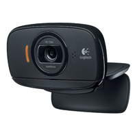 Logitech C525 Portable HD 720p Video Webcam with Built-In Mic, Autofocus, Face Tracking, 360-degree Full Motion Rotation, Swivel