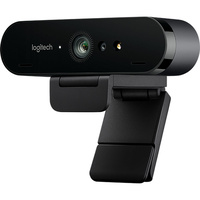 Logitech Webcam BRIO 4K Ultra HD HDR USB-C 90fps Zoom 5X Auto-Focus 960-001105