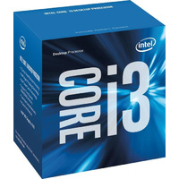 Intel Core i3 6100 3.7GHz Dual-Core LGA 1151 Processor, 3MB Cache, LGA 1151, Intel HD Graphics 530, 51W, 14nm, Desktop Processor, BOX