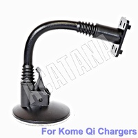 Kome Bracket B - 20cm Windshield Soft Flexible Arm Bracket for C102, C202 Magnetic Car Chargers
