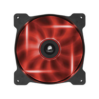 Corsair Air Series AF120 Quiet Edition Case Fan - Superior Cooling Performance and Red LED Illumination