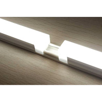 CononLux LED Rail Line Lamp 300mm length, 5Watts, for Wardrobe, Cabinet, Shelves, DIY Module Construction, SMD2835 LED's 4000K Neutral White. ONLY RAI
