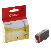 Canon Ink Cartridge CLI-521Y, Yellow