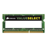 Corsair 8GB (1x8GB) DDR3 1600MHz Value Select SODIMM, 11-11-11-28 204-pin, Low Voltage 1.35V, Lifetime warranty