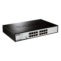 D-Link 16-Port 10/100/1000 Rackmountable Gigabit Unmanaged Switch