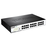 D-Link DGS-1024D 24-Port Gigabit Unmanaged Desktop or Rackmount Switch