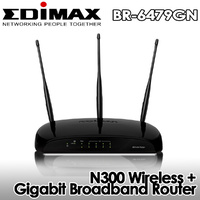 NEW! Edimax BR-6479GN Wireless N300 Gigabit AP Router WiFi 802.11 b/g/n Chinese Manual