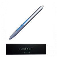 Wacom Bamboo Pen with Eraser for Bamboo Fun and Graphire Graphic Tablet CTE-650 CTE-450 1st Gen and other, Silver