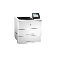 "HP LaserJet Enterprise M506x Office Black and White Monochrome Laser Printer with 4.3"" colour touch screen Print speed black"