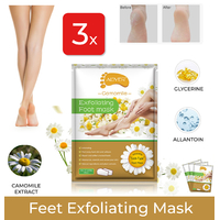 3x Exfoliating Foot Peel MASK Milky Soft Feet Hard Dead Skin Remover Smooth
