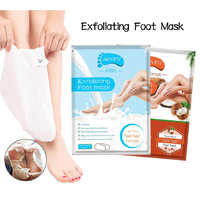 2in1 Foot Peel Mask Exfoliating Feet Milky  Remove Hard Dead Skin Smooth Socks