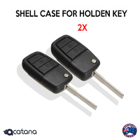 2x 4-Button Compatible Flip Key Remote Shell Case Suitable for HOLDEN SS SV6 HSV Voraus