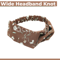 Headband Hair Band Soft Wide Hairband Women Sports Girls Head Yoga Stretch Knot