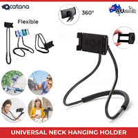 Universal Mobile Phone Flexible Holder Bracket Lazy Hanging Stand Mount Necklace