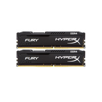 Kingston HyperX FURY Black 8GB (2x4G) DDR4 2666MHz NON-ECC CL 15 DIMM Kit of 2 Modules