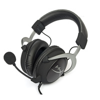 HyperX Cloud II Gaming Headset with 7.1 Virtual Surround Sound for PC PS4 MAC Mobile, Gunmetal