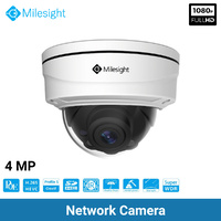 Security Camera Home 1080p 4MP CMOS H.265  Full HD Remote Zoom Milesight C4472