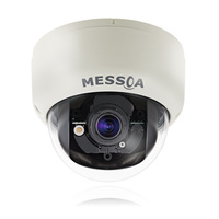 MESSOA NID335 3MP H.264 Ultra WDR Indoor Day/Night Dome Network IP Camera with Remote Zoom and Auto Focus