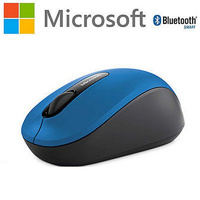Mouse Wireless Bluetooth Mobile Bluetrack Ambidextrous Blue 3600 Microsoft PN7-00025