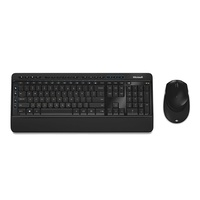 Microsoft Wireless Desktop 3050 Keyboard & Mouse Combo With AES PC MAC Genuine PP3-00024