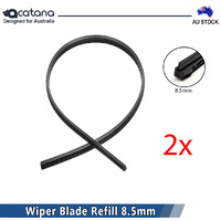 2x Wiper Blade Refill for Honda Civic 2006 2007 2008 2009 - 2012 2013 2014 8.5mm