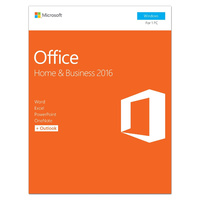 Microsoft Office Home & Business 2016 32-bit/64-bit, Electronic License (ESD Download Version) Key Code Only,  for 1PC, Tablets or Smartphone, Electro