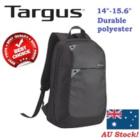 "Targus 15.6"" Intellect Laptop Backpack Black Bag Notebook Fits Up To 15.6"" TBB565GL"