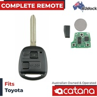 Remote Car Key for Toyota Corolla 2001 2002 2003 2004 2005 2006 2007 4C Chip