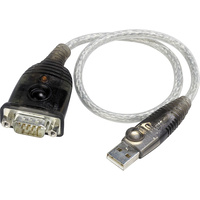 Adapter USB to RS232 DB9 Convert Serial Cable 35cm for PC MAC Aten UC232A-AT