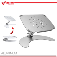 Adjustable Aluminium Laptop Stand For MacBook Portable Tray Holder Riser VM-LHA5