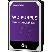 "6TB Purple 5400 rpm SATA III 3.5"" Internal Surveillance Hard Drive WD WD60PURZ"